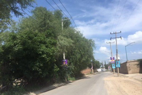 Terreno antiguo camino a Tesistan